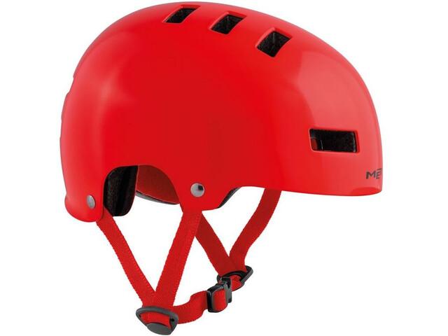 MET Yo-Yo Cykelhjälm Barn röd - till fenomenalt pris på Bikester d780277661b83